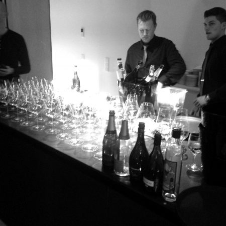 Event Champagner Salmon